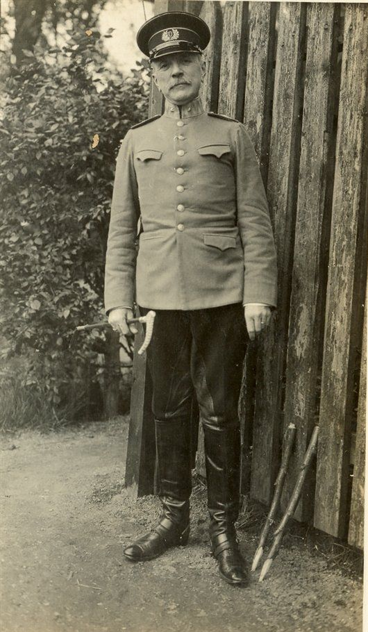 Baron van Boecop, commandant van fort Wierickerschans (1915) - Geschiedenis van Zuid-Holland