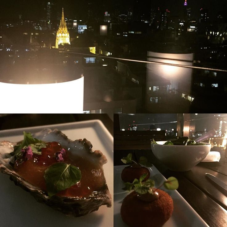 Stunning view stunning dinner. Than you @tworoomsgrillbar