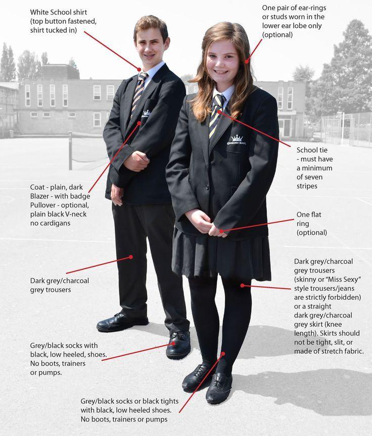 Resultado de imagem para mandatory school uniform england