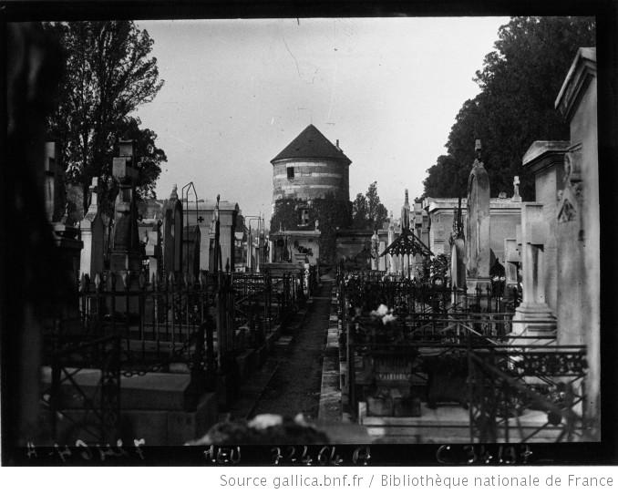 Cimetière Montparnasse, 1929