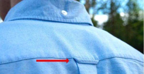 Έχετε αναρωτηθεί ποτέ γιατί υπάρχει η Μικρή Θηλιά στο πίσω μέρος του Πουκάμισου