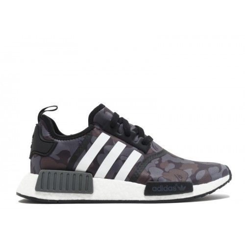 Adidas NMD | Adidas NMD R1 On Sale - 2017 Adidas NMD R1 Bape Black Sneakers