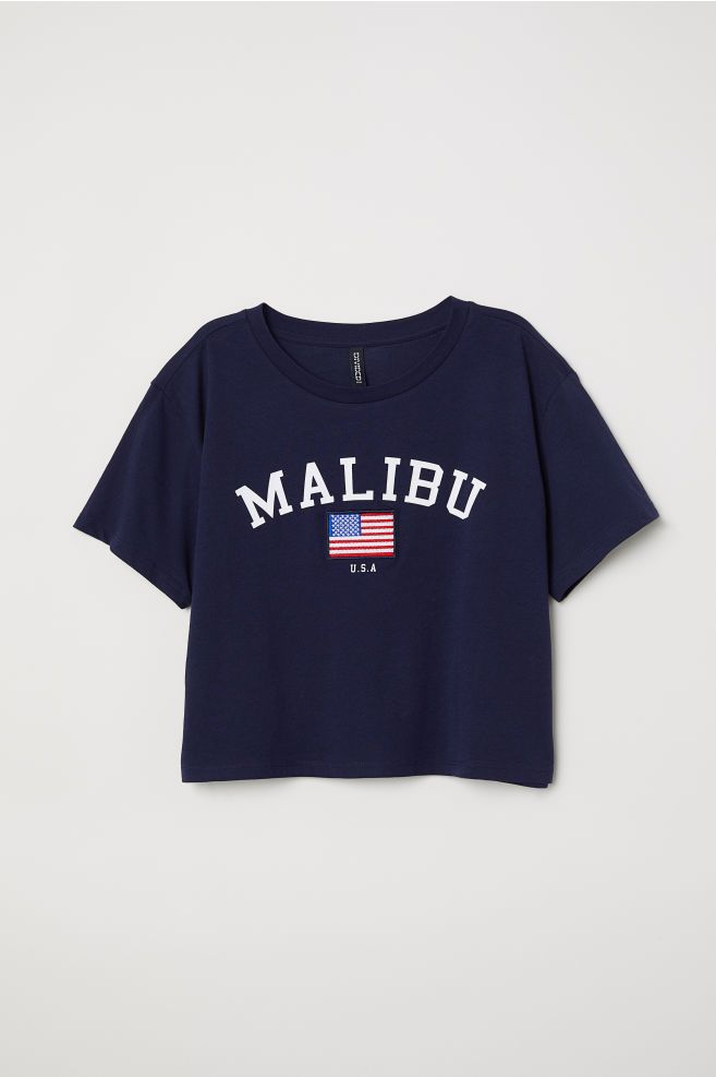 b3946591 Short T-shirt in 2019 | clothes i like | Shirt blouses, Belly shirts ...