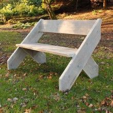 Amsterdam Bench by scaffa.co.uk  recycled scaffolding boards as furniture! #genius and beautiful too!
