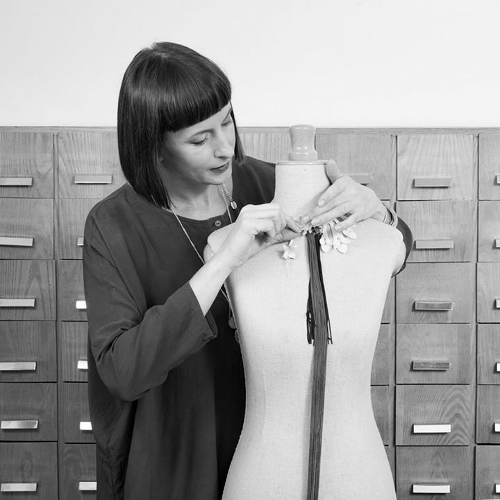 Anna Orska at work. New autumn collection coming soon, stay tuned !