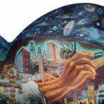 Aurora Reyes (1908-1985), poetisa y pintora mexicana, fue la primera muralista mexicana. Siempre vinculó el arte con la lucha social y política