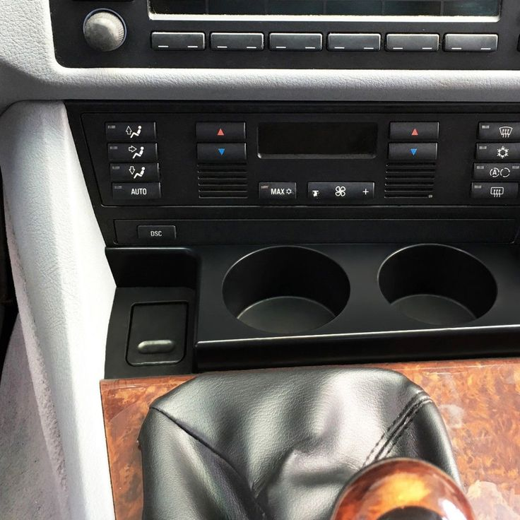 Premium Front Cup Holder Fit For BMW E39 5 Series 1997-2003 525i 528i 530i 540i M5 Drinks Holders