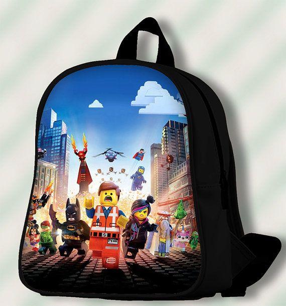 Lego Movie Wallpaper  Custom by SmileSchoolBags on Etsy