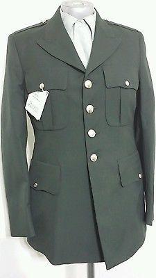 DeRossi & Son Army Service Uniform Dress Green Jacket 40R