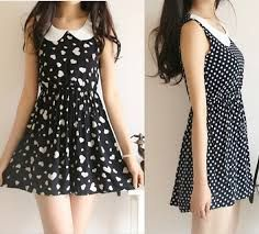 Resultado de imagen para vestidos sencillos para adolescentes de dia