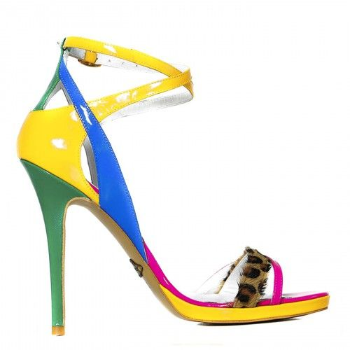 #CONDURbyalexandru #Shoes #2015 #Spring #Summer @ 1506 Lac galben cu fuchsia