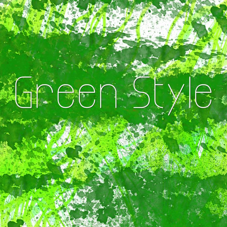 #Verde, #Green, una raccolta di prodotti con il colore verde.