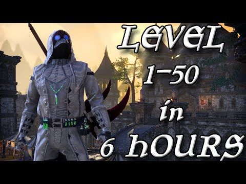 GRINDING LEVEL 1-50 IN 6 HOURS ON ESO! (Elder Scrolls Online Tips for PC, PS4, and XB1) - YouTube