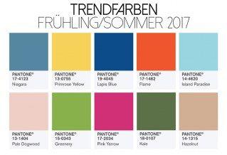 Trendfarben 2017