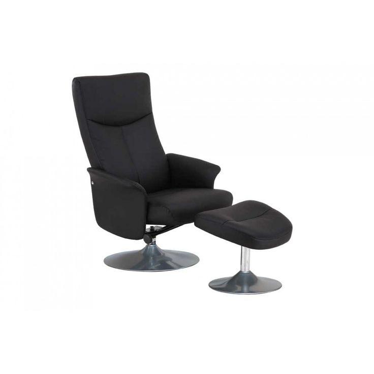Een vermoeiende dag gehad? Er is geen betere manier om tot rust te komen dan in de moderne relaxfauteuil Ludo. Leun met jouw rug naar achteren en ontspan in alle comfort. De fauteuil is bekleed met kunstleer. https://www.emob.eu/be/nl/relaxzetel-ludo-zwart-be-nl