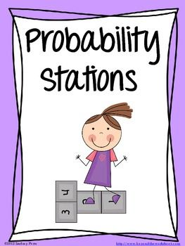 This lesson allows students to take a cooperative and hands on approach to learning about probability. 5 stations include rolling a cuboctohedron, flipping a coin, pulling colors from a bag, pulling letters from a bag, and rolling a die. Students compare the theoretical probability to their actual experimental results. A rubric is included, as well as color cards, letter cards and the cuboctrohedron net.