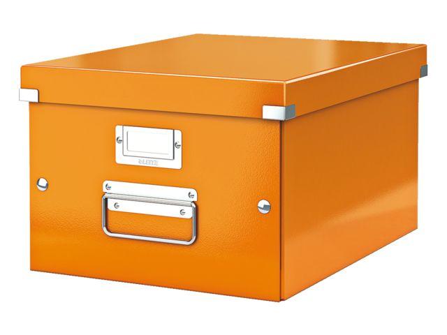 Opbergbox van Leitz #oranje #DKVH