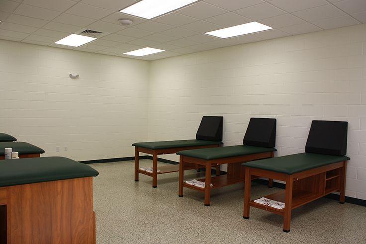 The rehab room