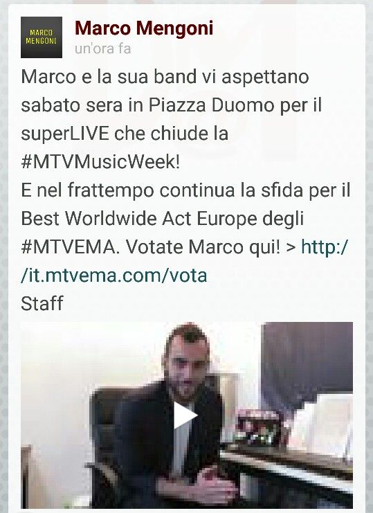 By Mengoni Marco official fb    https://m.facebook.com/story.php?story_fbid=760745240698924&id=170049176435203&_rdr
