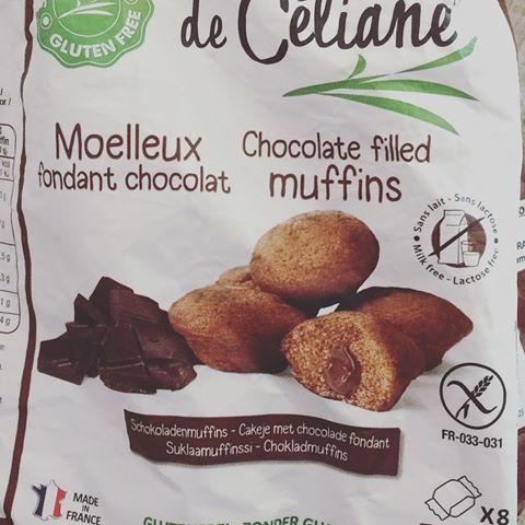🍫 #muffins #chocolat #sansglutensanslait #glutenfree #nodairy 👍🏻 Un délice j'avoue! #yummy #pornfood #miamm #lesrecettesdeceliane 😍
