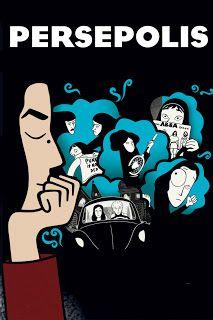 Persepolis, Oscar 2008, animação, guerras, ditador, Irã, garota, política, revolução, religião, aiatolás, prisão, conflitos
