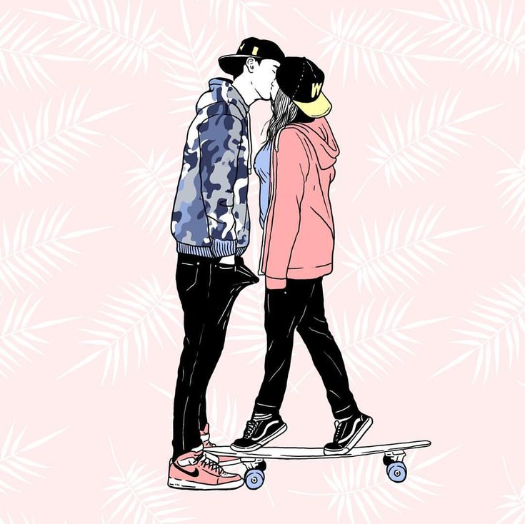Nanti lu juga paham. . #wolfinst #tropical #illustration #drawing #summer #skate #skateboard #couple #tumblr