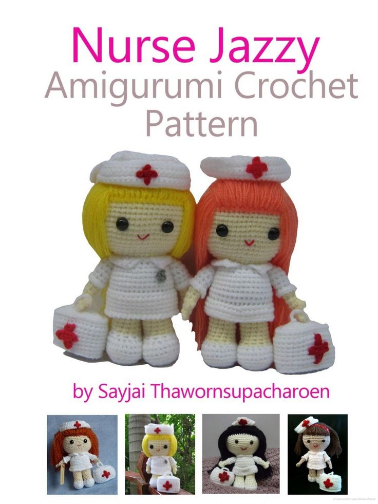 Amigurumi Nurse Pattern : 17 Best images about dolls on Pinterest Free pattern ...