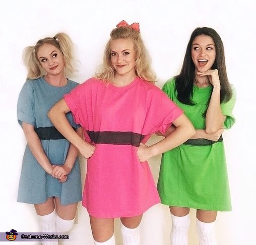 The Powerpuff Girls Costume - Halloween Costume Contest