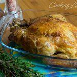 Pollo arrosto alla senape