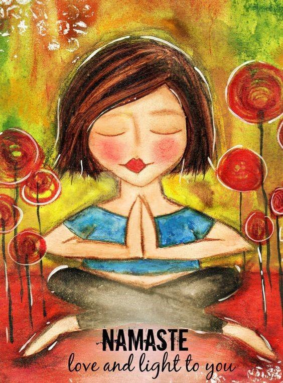 Namaste. #namaste #yoga #yogi # breathe #meditate #meditation #innerpeace #innerpower #enlightenment #goodvibes #powerthoughtsmeditationclub