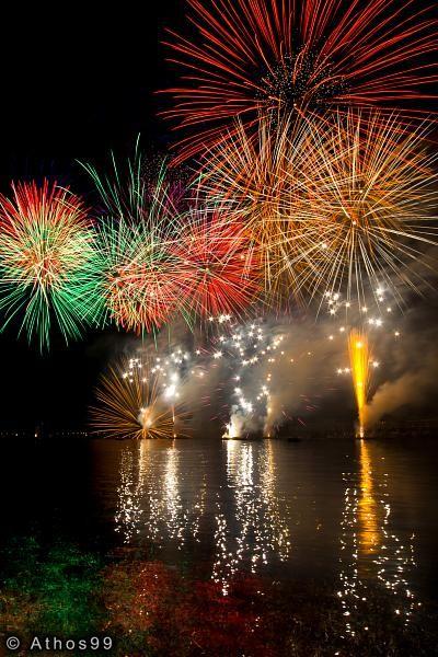 Fêtes de Genève : Feux d'artifice Pyromélodiques 2007
