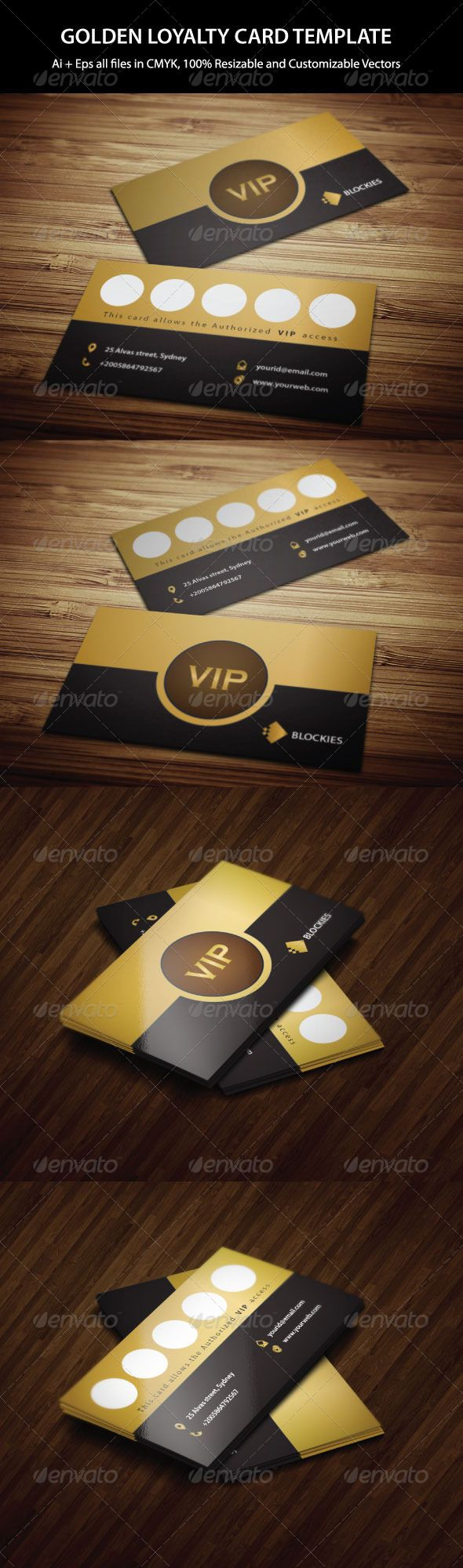 Exclusive Loyalty Card Template #design #printdesign Download: http://graphicriver.net/item/exclusive-loyalty-card-template/6472939?ref=ksioks