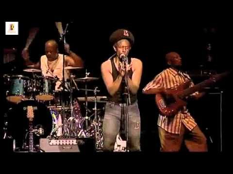 "Eddy Grant -  Electric Avenue (Live in Cape Town)..""working so hard like a soldier, can't afford a thing on tv"""