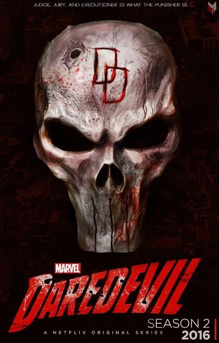 Daredevil Season 2's Fan Poster