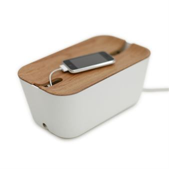 Cable organiser M - wooden print - Bosign