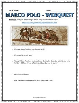 Marco polo significance