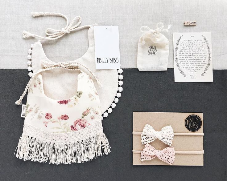 Packaging up the cutest order ever! Aurora & Blossom bibs and the Vintage Lace bow set