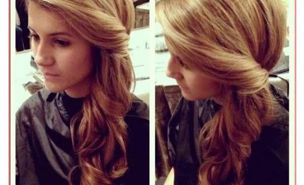 Delicious short curly hair cut long long long