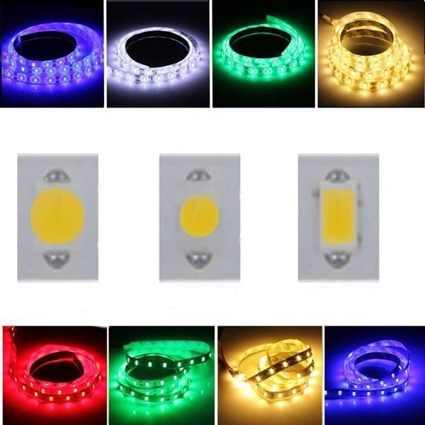 Wallmart.win 1M 5050 SMD 60LED Flexible LED Strip Light RGB/Red/Blue Non-Waterproof 12V: Vendor: BG-US-Light-and-Lighting Type: LED Strip…