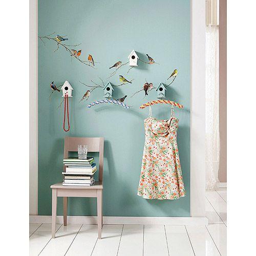 Komar Freestyle Living Birds Wall Art Decals