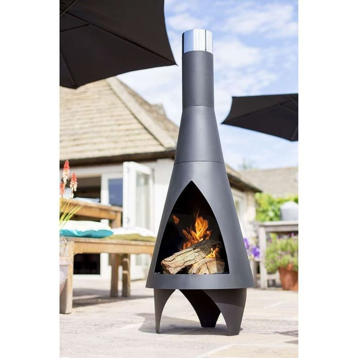 Fire Bowl Pit Home Fireplace Warmth Decoration Indoor Outdoor Black Wood Burning #FireBowlPit