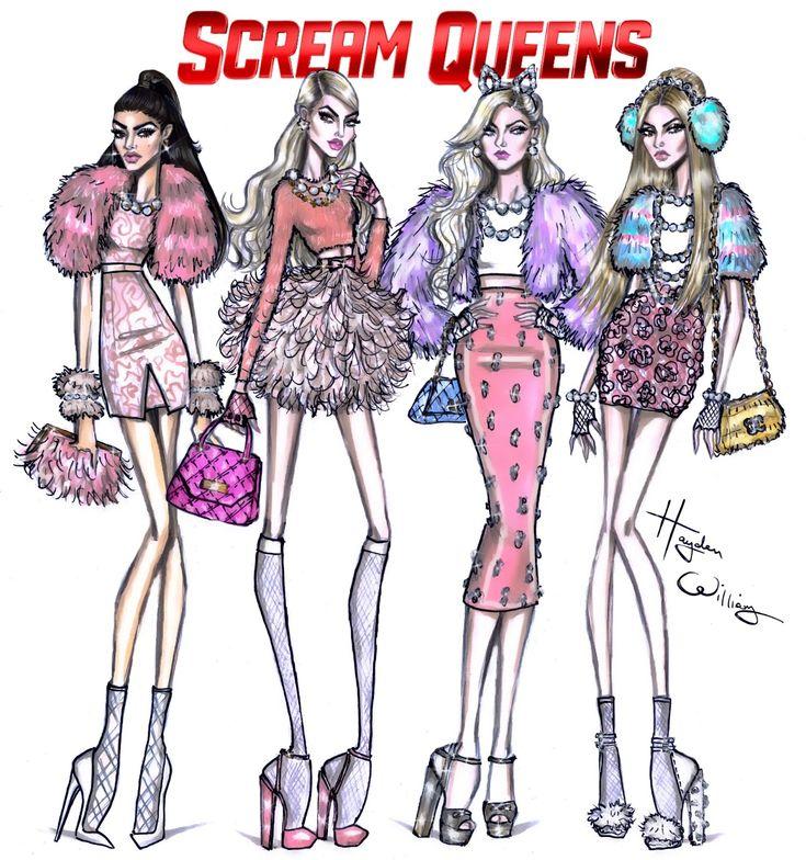Scream Queens by Hayden Williams                                                                                                                                                                                 More