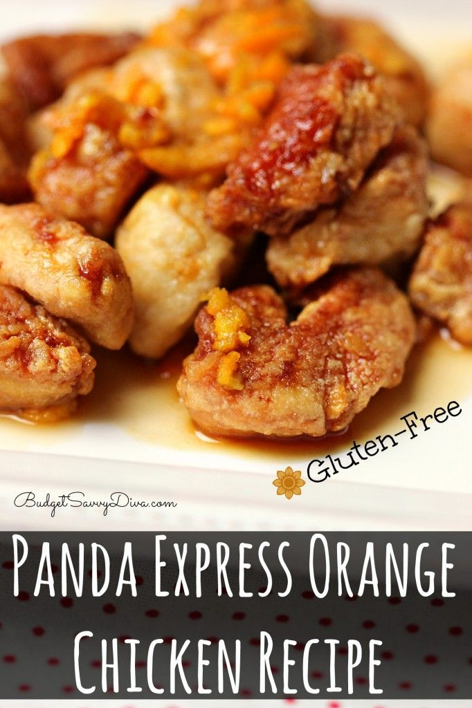 Panda Express Orange Chicken Recipe – Gluten Free