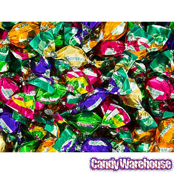 Chipurnoi Glitterati Candy - Fruit & Berry Medley: 1600-Piece Bag