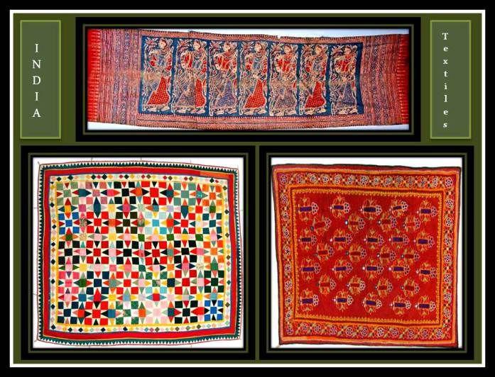 Textiles Antiguos de La India