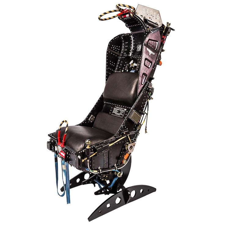 Stylish and Very Unusual Martin Baker Aircraft Ejection Seat | From a unique collection of antique and modern chairs at https://www.1stdibs.com/furniture/seating/chairs/