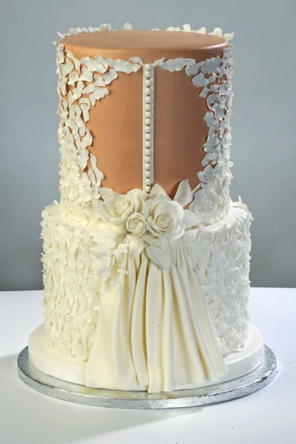 Wedding Dress Cake By D Adamo Cinzia