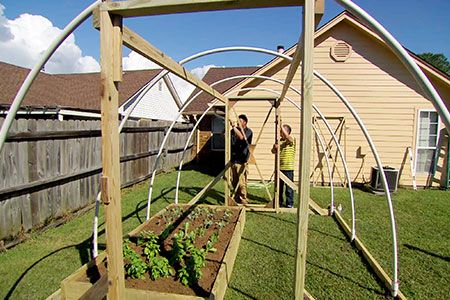with Ask This Old House landscape contractor Roger Cook   thisoldhouse.com   from How to Build a High-Tunnel Greenhouse