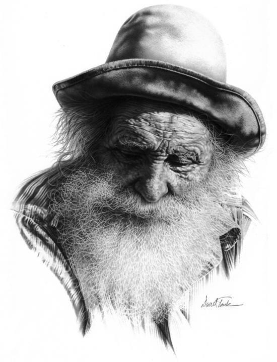 Art drawing by Darrell Tank