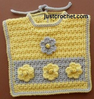 121 best crochet baby bibs images on pinterest free crochet free baby crochet pattern for motif bib scroll down page for boys motif http dt1010fo